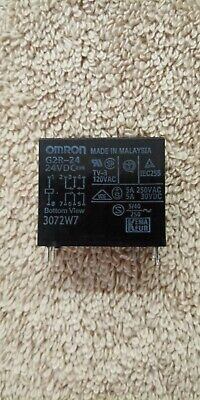 (Omron 24v DPST 6 pin Speaker Relay 5A Contacts - USA Seller)