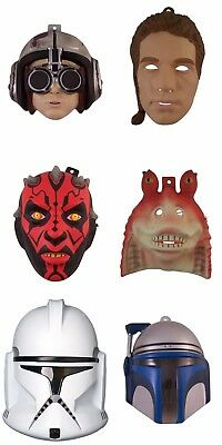 Star Wars Multi Character Children's Halloween Costume Mask Accessories