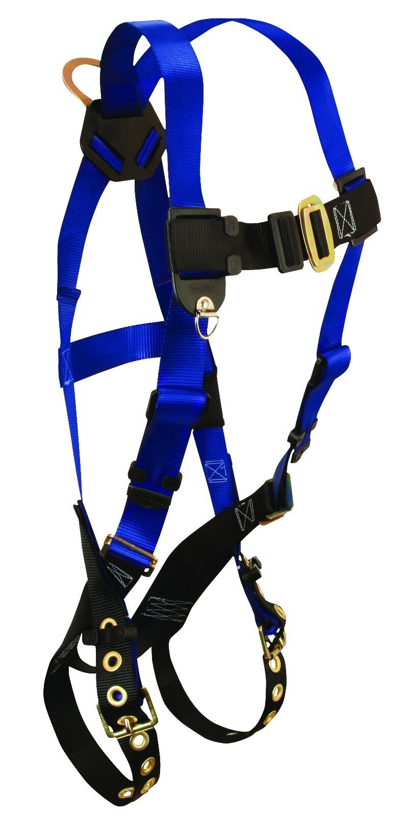 Falltech 7016 Contractor Harness W/Tongue Buckle Legs & 1 D-Ring, Universal Size Business & Industrial