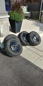 Snow Tires N Rims