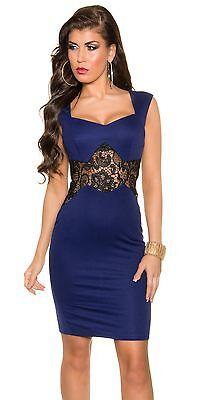 Neu Cocktail Etui Kleid Party PencilKleid Abendkleid Dress Stickerei !18832  online kaufen