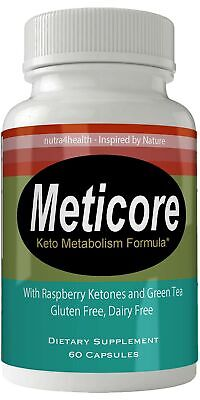 Meticore Metabolism Control Advanced Diet Pills Supplement for Weight Loss Burn
