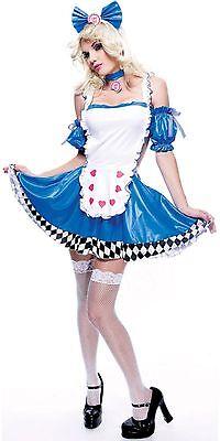 PMG Paper Magic Group Wicked Wonderland Alice Wicked Sexy Halloween Costume Sz M