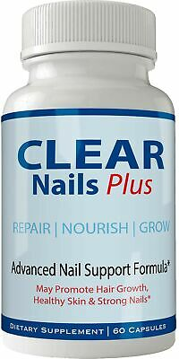 Clear Nails Plus Pills Supplement - Advanced Unique Hair Growth Vitamins and ...