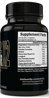 LX2 Liberator LX Male Enhancement Supplement Advanced Enhancing Pills for Men... 1