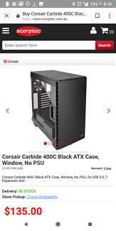 Corsair 400C mid ATX case