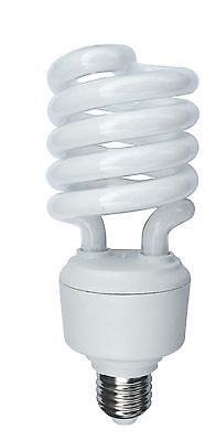 32W T3 Mini Spiral Compact Fluorescent E26 Screw In Base High Lumen/Wattage - High Wattage Compact Fluorescent