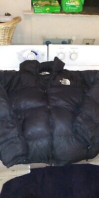 used and dirty north face nuptse down jacket