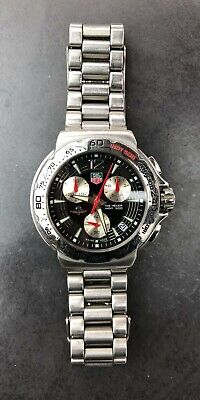Tag Heuer Indy 500 Men's Chronograph Watch   CAC111B-0   Genuine