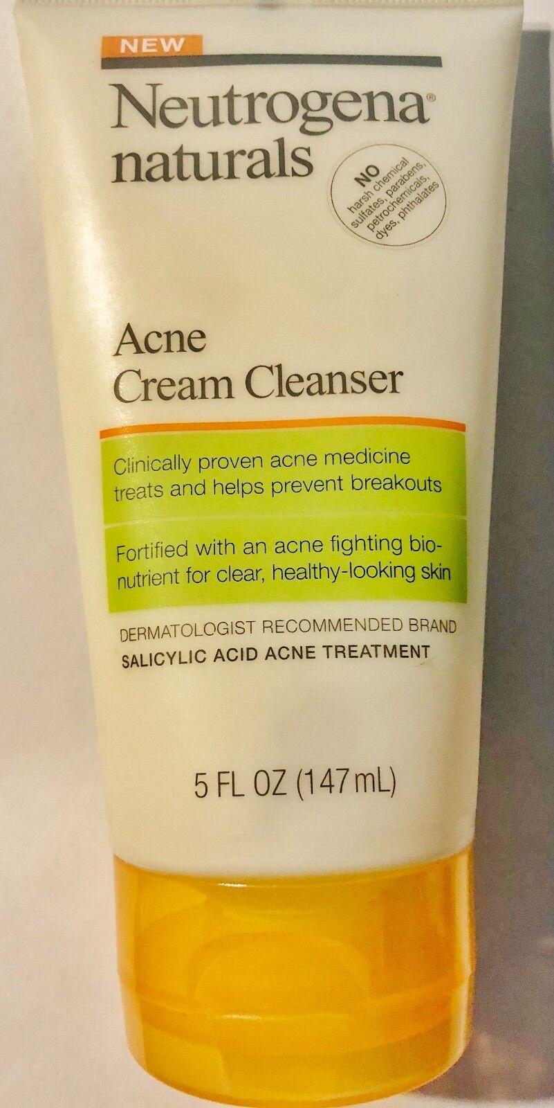 Neut Nat Acne Cream Clean Size 5z Neutrogena Naturals Acne C