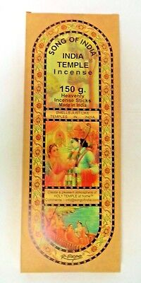 Song Of India Incense Sticks  150 Gram  120 Stick  Xl Indian Temple Pack
