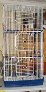 Rabbit, Rat, Guinea Pig or Bird 3 in 1 Cages / Banks. Villawood Bankstown Area Preview