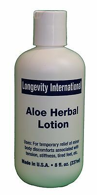 Analgesic Aloe Herbal Pain Relief Lotion 8 oz - Best for arthritis ( 240 ml