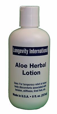 Analgesic Aloe Herbal Pain Relief Lotion 8 oz - Best for arthritis ( 240 ml ) - Pain Relief Lotion