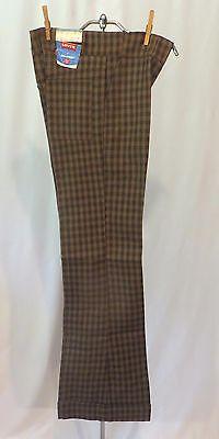 Vintage Levi's Sta Prest Pants Slacks Cuffs Dead Stock  32 X 36