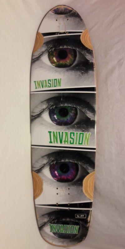 "Jet Invasion Circuit 36.0"" Deck ""Invasion Eyes"" Retired USED"