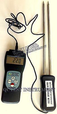 Digital Grain Moisture Meter Gauge Rice Corn Wheat Pea Seed Coffee Rice Paddy