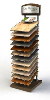 Retail Floor Sample Display Stand- Heavy Duty Wire Rack Pop