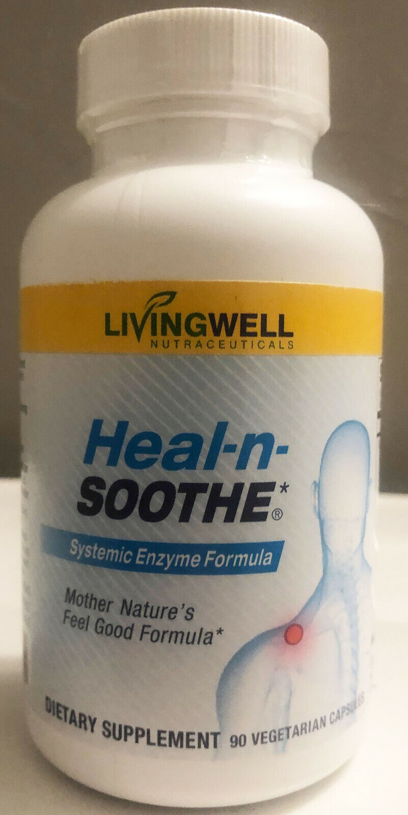 HEAL-N-SOOTHE 90 COUNT PAIN RELIEF ANTI INFLAMMATORY SUPPLEMENT