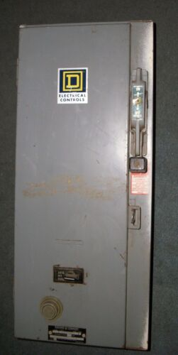 Square D Size 0 Type S,  Motor Starter W/Disconnect Switch/Circuit Breakers
