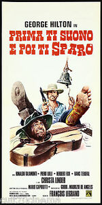 PRIMA-TI-SUONO-E-POI-TI-SPARO-LOCANDINA-CINEMA-FILM-WESTERN-1974-PLAYBILL-POSTER