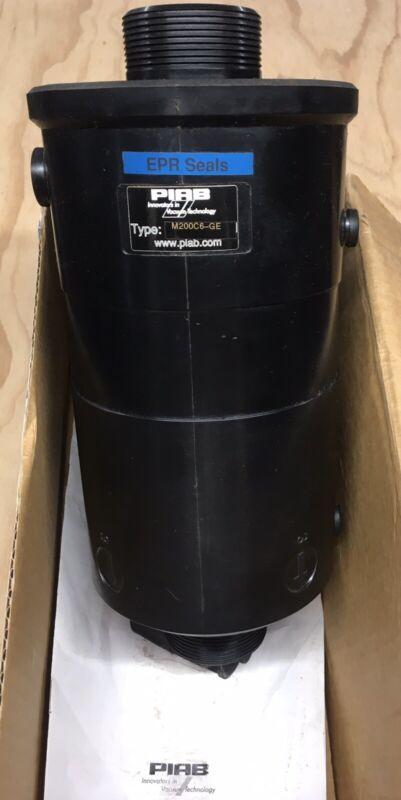 NOS Piab M200C6-GE Round Vacuum Pump