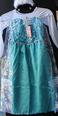 Snow Princess Costumes, Inspired on Frozen Princess Anna and Elsa (Elsa And Anna Costume)