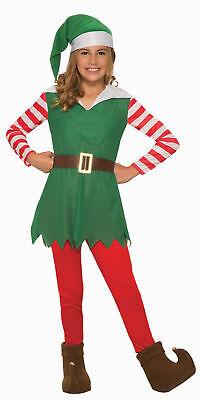 Santas Helper Elf GIRL Child Costume NEW Christmas - Girls Elf Costume