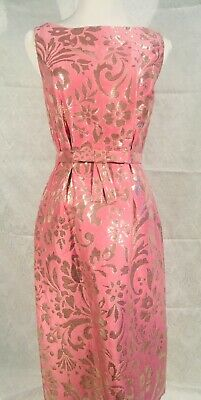 SALE!  CHRISTIAN DIOR Sheath Dress in Pink/Silver (Christian Dior Sale)