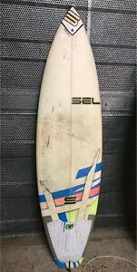 Surfboard- no fins great for beginner