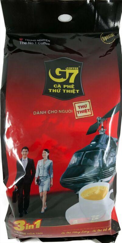 G7 Coffee 3-In-1 Instant Vietnamese Coffee Mix 100 Sticks x 16g