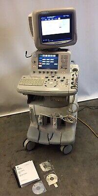 Ge Logiq 7 Ultrasound Machine W 2 Probes M12l 10l 2389220