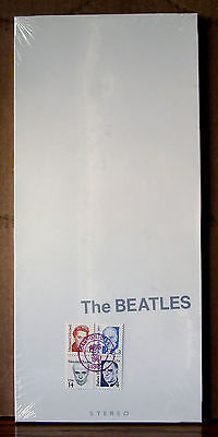 First Day of Issue the Beatles White Album CD Carson City Nevada August 25, 1987