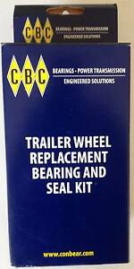 CBC Trailer Wheel Replacement Bearing & Seal Kit Midvale Mundaring Area Preview