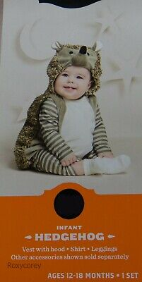 Porcupine Baby Halloween (Hyde & Eek! Boutique Halloween Infant Hedgehog Costume Outfit Size 0-6)