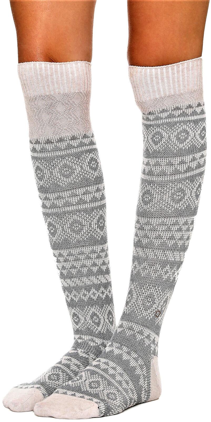 Calza Donna Stance Boot Socks Chelsea Grigio/Rosa Socks Woman Grey/Pink 1