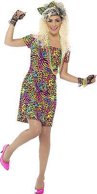 80er Jahre Wildlife Girl Damenkostüm NEU - Damen Karneval Fasching Verkleidung K (Neu Karneval Kostüme)