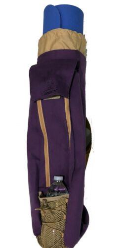 ***WHOLESALE LOT*** Llamaste Premium Canvas Yoga or Pilates Mat Bag Lilac Purple