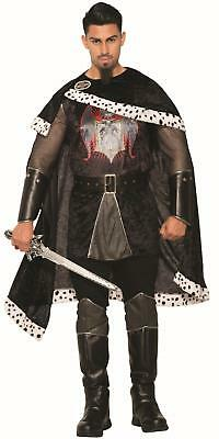 Dark Royalty Black Evil King Adult Mens Costume