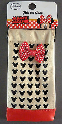 Disney Minnie Mouse Brillenetui Tasche Damen Sonnenbrille Hülle Etui Mickey Maus