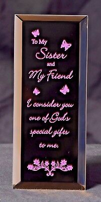 A Gift for your Sister - A Keepsake Plaque for your - Sisters Plaque