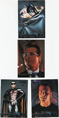 Batman Forever  Fleer Ultra  1995  Complete Trading Card Set. 120 Cards