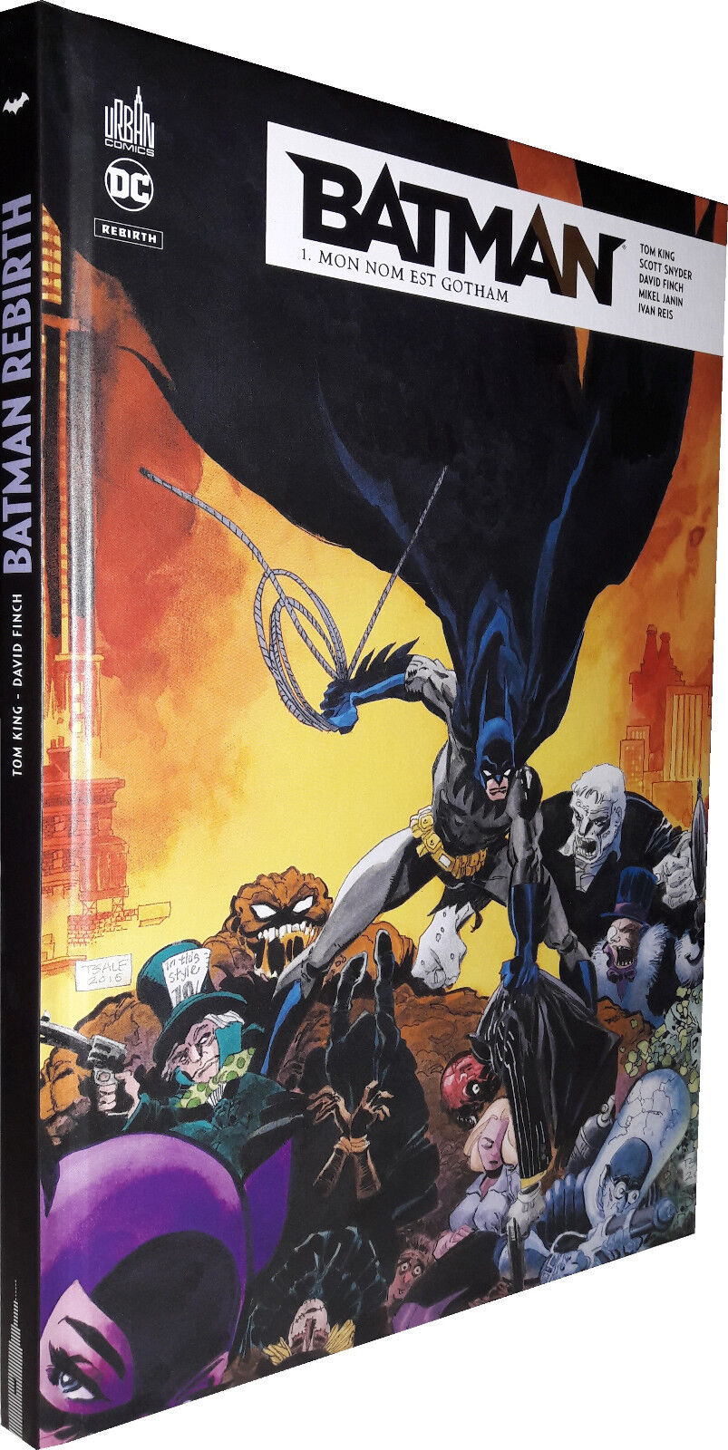 Batman Rebirth Tome 1 - Édition GLBD - Urban Comics - 09/06/2017