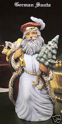 Ceramic Bisque German Santa Kimple Mold 1623 U-Paint Reay To Paint