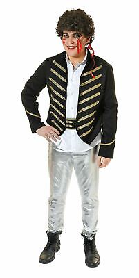 Prince Charming Outfit Adults (SALE Adult 80s Pop Star Adam Ant Prince Charming Mens Fancy Dress Costume)