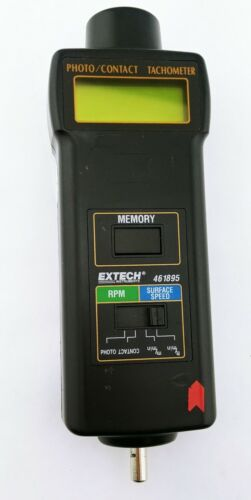 Extech Instruments Photo/Contact Tachometer 461895 5 to 99,9999, 0.5 to 20,000