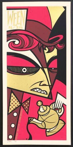 MINT & SIGNED Ween 2008 Les Schwab Bend Todd Slater Poster 92/200