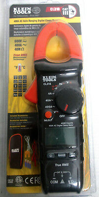Klein Tools Cl310 Trms Digital Clamp Meter 400a Ac Current Auto Ranging - New