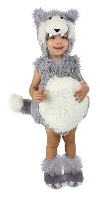 Infant Big Bad Wolf Costume Vintage Beau Toddler Baby Child - 12-18 Month - Baby Wolf Costume
