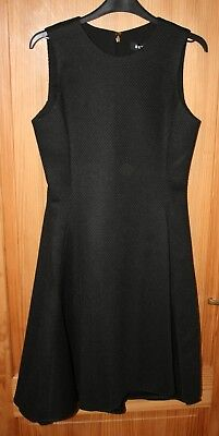 DKNY - Donna Karan - Black Sleeveless Dress - Size UK8 US4 - BNWT